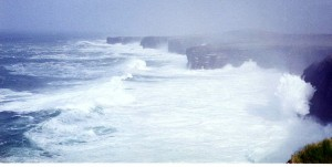 big atlantic swell