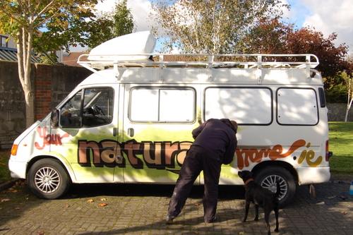 branding the van