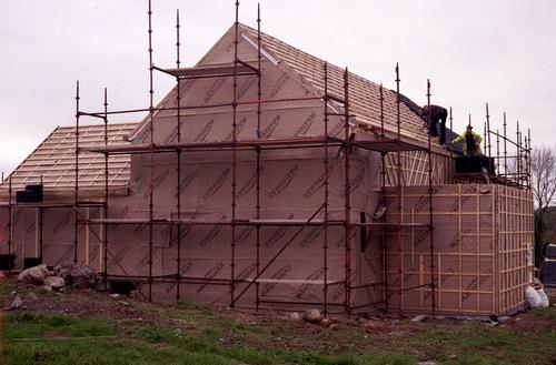Woodworx straw bale house
